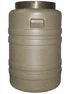 бочка с резьбовой крышкой для сыпучих и технических продуктов